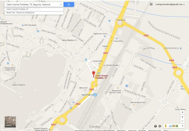 Calle Vicente Fontelles 19 Sagunto Enero2015